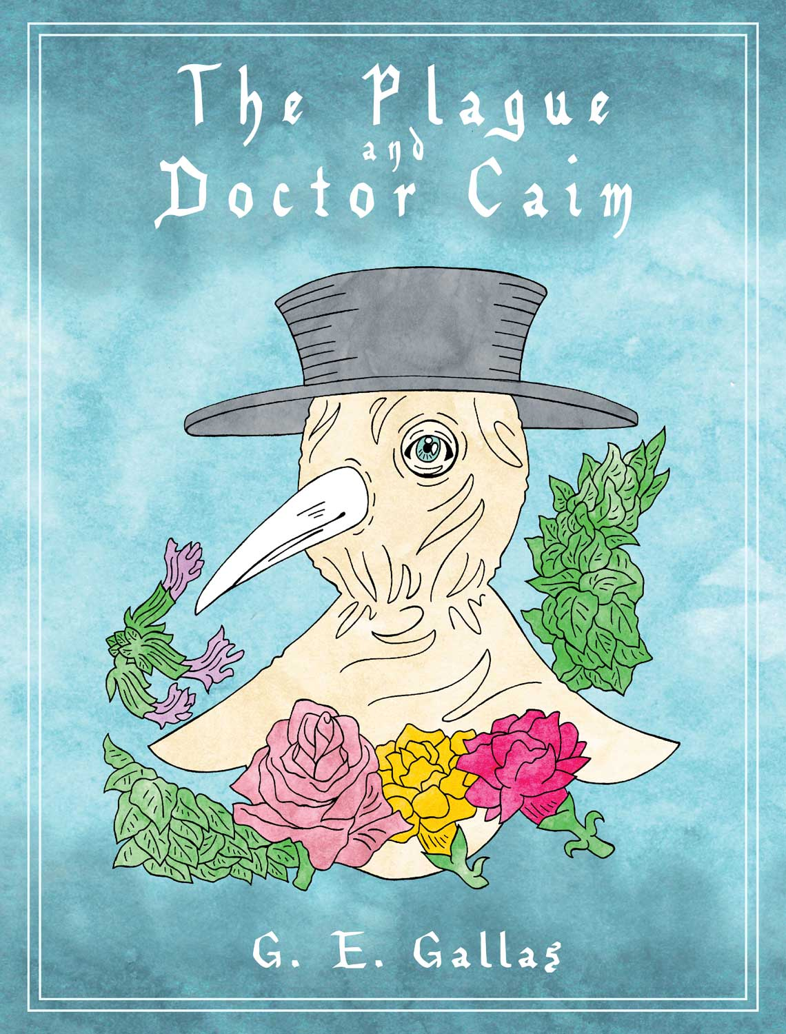 Cover image for fantasy graphic novel The Plague and Doctor Caim