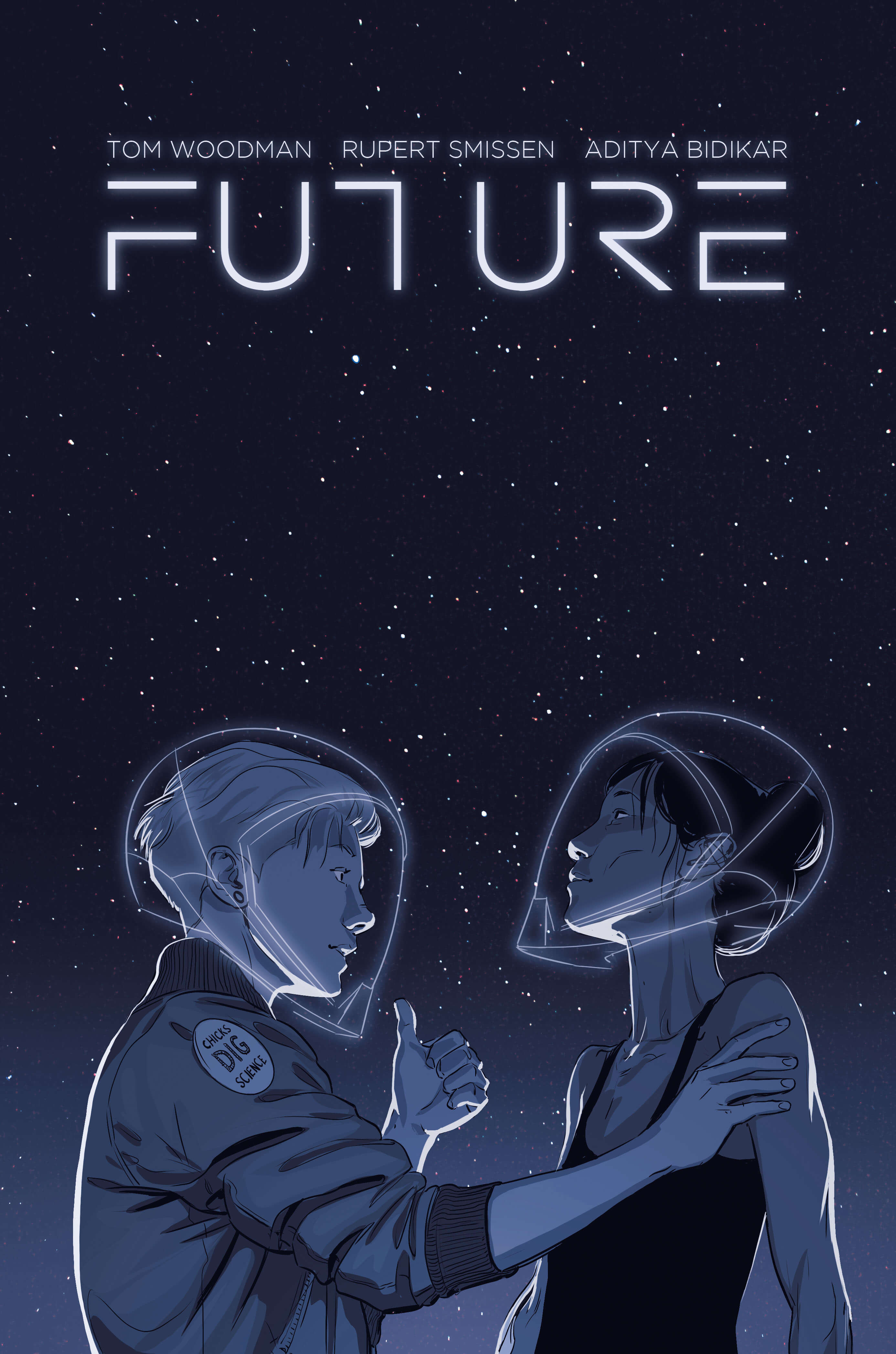 Cover image for science fiction graphic novel space time travel